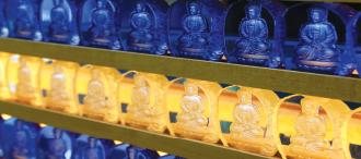 Enshrining Buddhas & Bodhisattvas